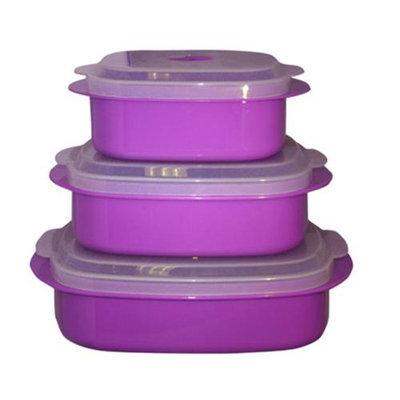 Reston Lloyd 20501 Purple - Microwave Cookware-Storage Set