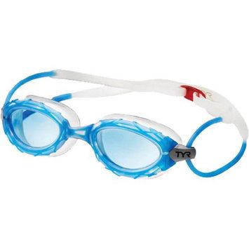 Tyr Nest Pro Nano Swim Goggles Blue/Clear/Silver