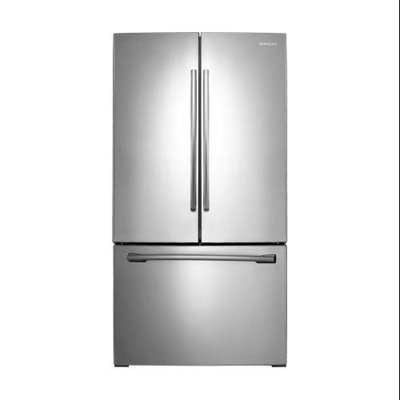 Samsung - 256 Cu Ft French Door Refrigerator - Stainless-Steel