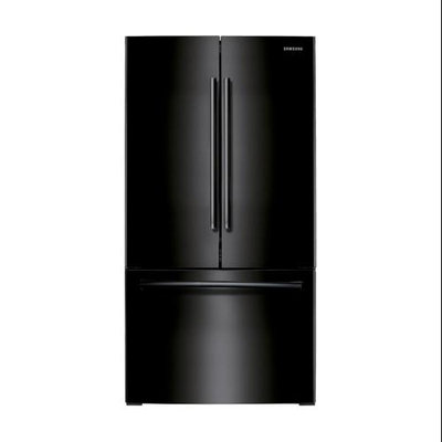 Samsung - 257 Cu Ft French Door Refrigerator - Black