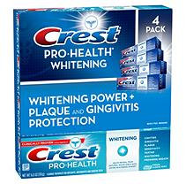 Crest ProHealth Whitening Toothpaste - 4 pk. - 6 oz. each