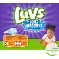 Luvs Diapers with Ultra Absorbent Leakguards, Size 3