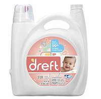 Dreft HE Liquid Laundry Detergent - 170 oz. - 110 loads