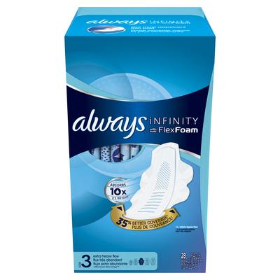Always® Infinity™ Size 3