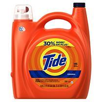 Tide Original Liquid Detergent, HE (225oz,146 Loads)