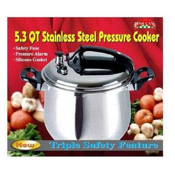Bene Casa 33868 5.3-quart Stainless Steel Pressure Cooker. Bene Casa P