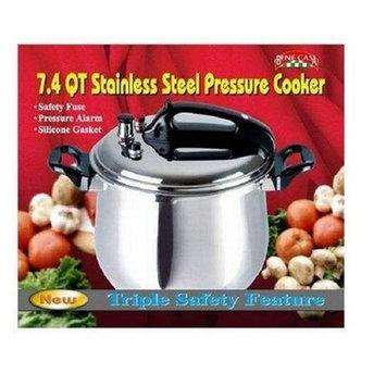 Bene Casa 33869 7.4-quart Stainless Steel Pressure Cooker. Bene Casa P