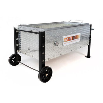 Commercial Bargains Inc BBQ Barbecue Caja China Style Pig Lamb Diamond Cut Roasting Box 100 lb