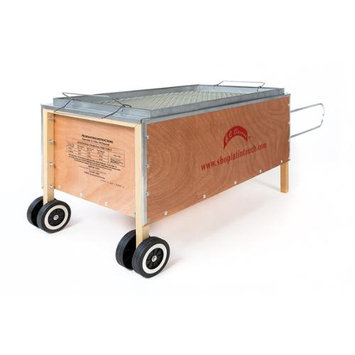 Commercial Bargains Inc BBQ Barbecue Caja China Style Pig Lamb Roasting Box Slow Cooker 100 lb