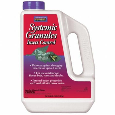 Bonide Products P Bonide 4# 2% Systemic. granules Weather Resistant Container