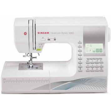 Singer Sewing Co Singer Quantum Stylist 9960W 600-stitch Sewing/ Quilting Machine
