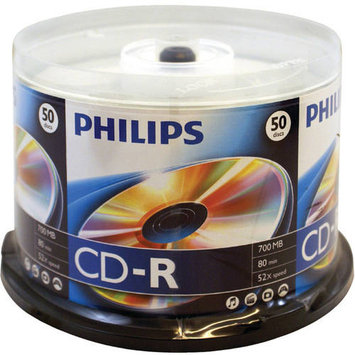 Computer Ultra Distribution PHILIPS CR7D5NH5070 52X CD ROM Pack of 50