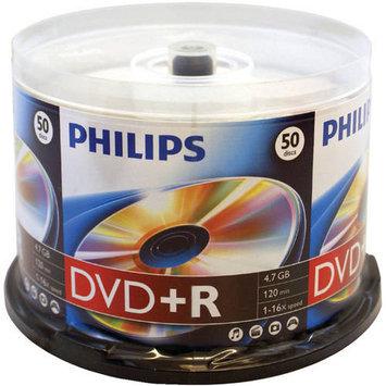 Philips 16x DVD+R Media - 4.7GB - 50 Pack