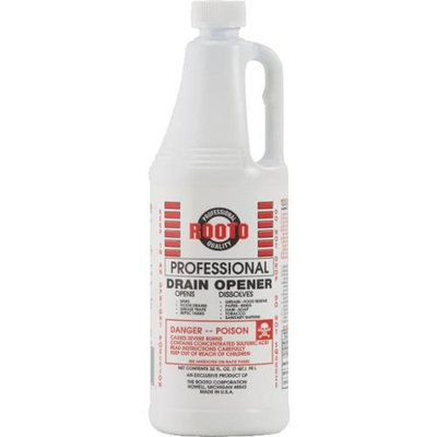 Rooto 32oz Drain Cleaner 1071 Pack of 12