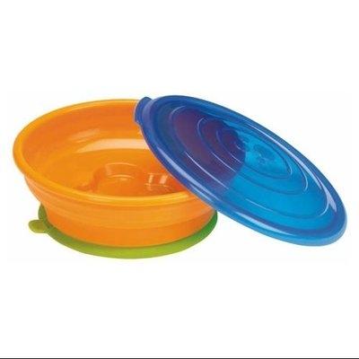Sassy EZ Scoop Toddler Feeding Bowl - Purple / Green