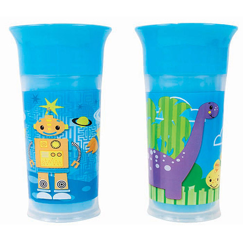 Sassy Insulated Grow Up Cups 9oz - 2Pk (Girls)