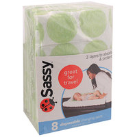 Sassy Inc. Sassy Disposable Changing Pads 8 ct.
