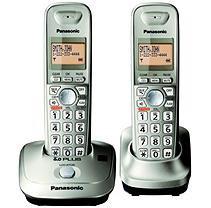 Panasonic Expandable Phone, Cordless, Gold Kx-tg4012n 29wk09