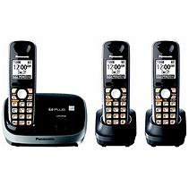 Panasonic Black Expandable Digital Cordless Phone System - KX-TG6513B