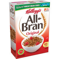 Kellogg's All-Bran Original Cereal, 18.3 oz, (Pack of 12)