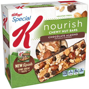 Special K® Kellogg's Chocolate Almond Chewy Nut Bars 5 ct Box