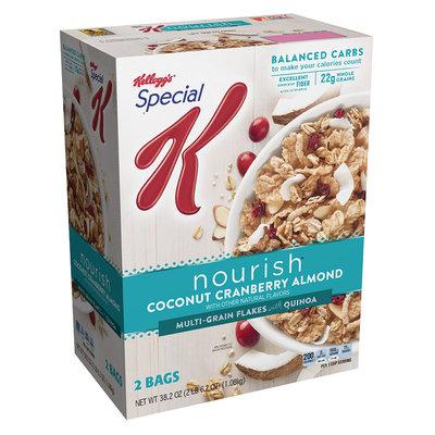 Special K® Kellogg's Nourish® Coconut Cranberry Almond Cereal