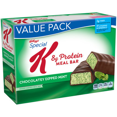 Special K® Kellogg's Protein Chocolatey Dipped Mint Dessert-Inspired Meal Bar