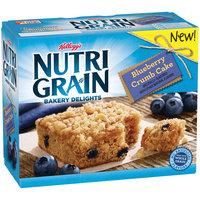 Kellogg's® Nutri-Grain® Bakery Delights Blueberry Crumb Cake