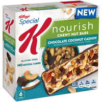 Special K® Kellogg's Nourish® Chocolate Coconut Cashew Chewy Nut Bars
