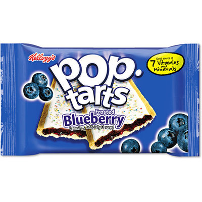 Keebler KEB31032 - Frosted Blueberry Pop Tarts
