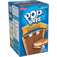 Kellogg's Pop-Tarts Frosted S'mores Toaster Pastries, 8 count, (Pack of 12)