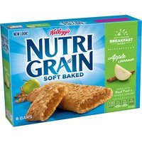 Kellogg's Nutri-Grain Soft Baked Apple Cinnamon Cereal Bars, 10.4 oz, (Pack of 12)