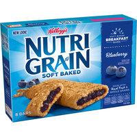 Kellogg's Nutri-Grain Soft Baked Blueberry Cereal Bars, 10.4 oz, (Pack of 12)