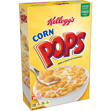 Kellogg's Corn Pops Cereal, 12.5 oz, (Pack of 12)