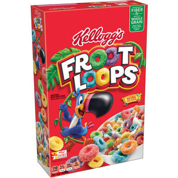 Kellogg's Froot Loops Cereal, 12.2 oz, (Pack of 12)