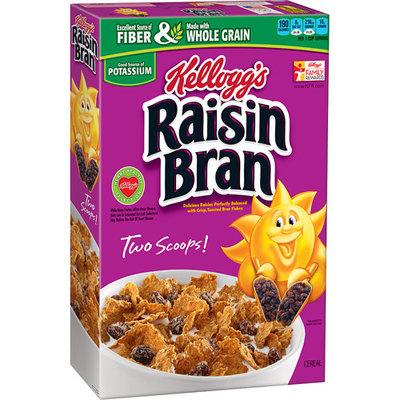 Kellogg's Raisin Bran Cereal, 18.7 oz, (Pack of 12)