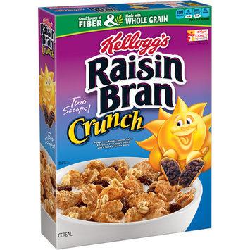 Kellogg's Raisin Bran Crunch Cereal, 18.2 oz, (Pack of 12)