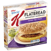 Special K® Kellogg's Sausage, Egg & Cheese Flatbread Breakfast Sandwich