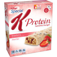 Kellogg's Special K Protein Strawberry Meal Bars, 6 count, (Pack of 4)