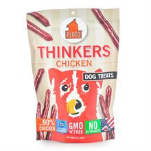 Plato Thinkers Dog Treats Chicken 10 oz