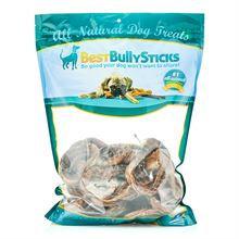 Best Bully's Bully Sticks Pretzel Bully Stick Dog Chew - Large Pack (50)