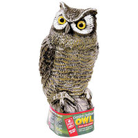 Easy Gardener Garden Defense Owl - Stationary, Model# 8001
