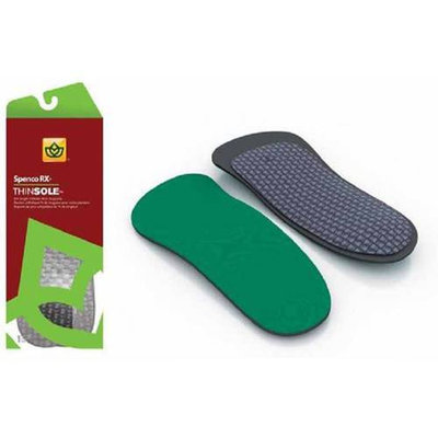 Spenco Unisex 3/4 Thinsole Orthotic Insoles Gear
