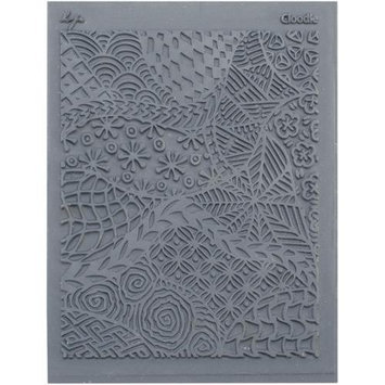 Lisa Pavelka 4 1/4&quot x 5 1/2&quot Individual Texture Rubber Stamp, Cloodle