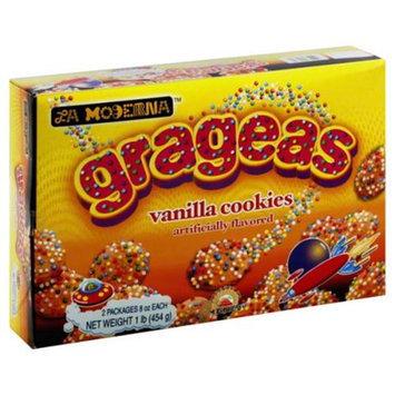 La Moderna Cookie Grageas Sprinkles, 14. 11 Oz. Case of 12