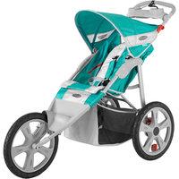 Instep Flash Single Jog Stroller - Green & Gray Green/gray