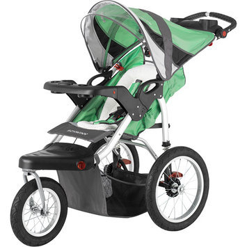 Schwinn Turismo Single Jogging Stroller - Gray and Blue