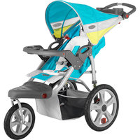 InStep Grand Safari Single Jogging Stroller - Navy