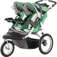 Schwinn Turismo Double Swivel Jogging Stroller - Blue / SC217