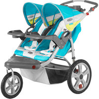 InStep Grand Safari Double Jogging Stroller - Navy